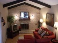 Image detail for -Family room, Long narrow family room ...