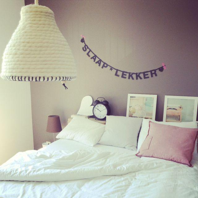 Grijs wit en oud roze  Slaapkamer  Pinterest  Fall