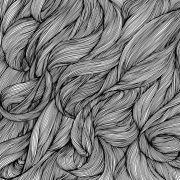 1000 hair pattern