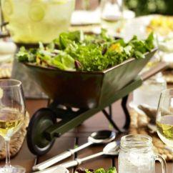 Unique Kitchen Tables Light Cover Wheelbarrow Serve Bowl | Pottery Barn Salads Pinterest ...