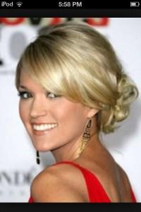 Carrie Underwood: updo | Possible Wedding Ideas ...