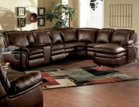 Ultimate Comfort! Reclining Leather Stallion Sectional ...