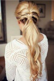 elegant ponytail ideas