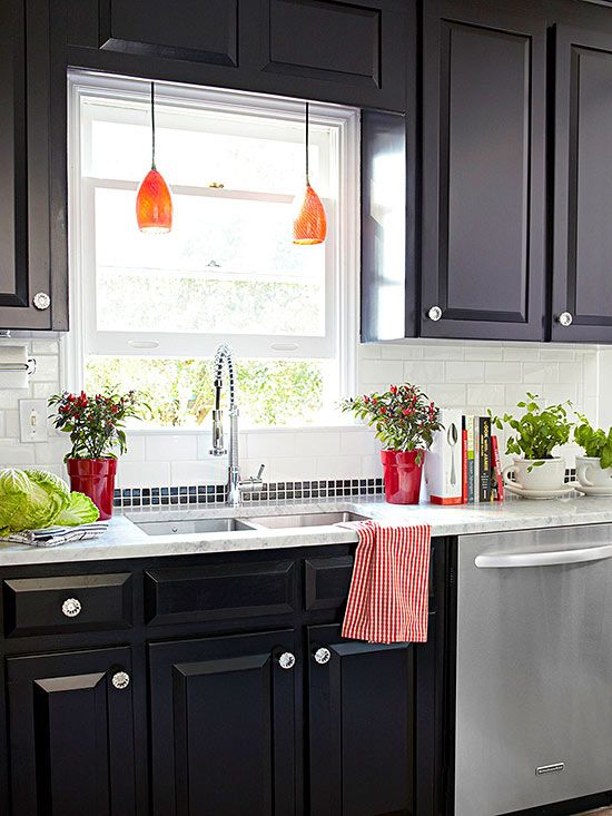 Our Favorite Kitchens on a Budget  The old Cabinets and