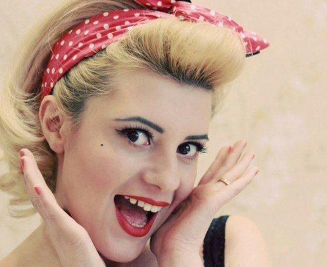 Die Besten 25 Kurze Haare Bandana Ideen Auf Pinterest