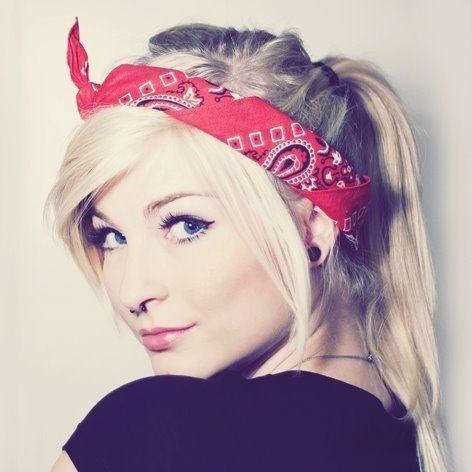 25 Best Ideas About Bandana In Hair On Pinterest Hair Scarfs