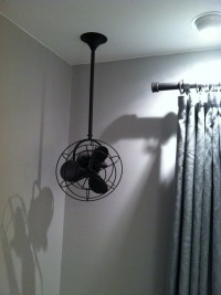 Nice alternative to ceiling fan because I have to have a