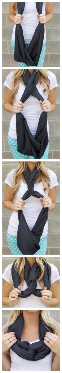 17 Best images about Scarf Tying on Pinterest | Tie a bow ...