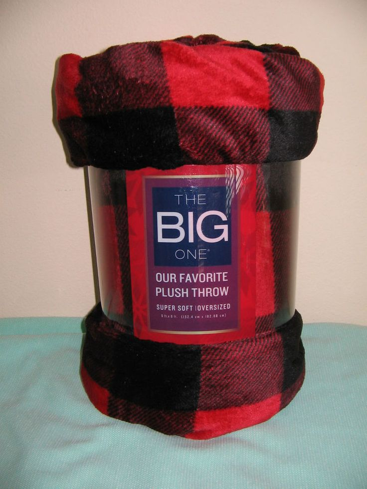 The Big One Plush Throw Blanket Faux Fur Super Soft