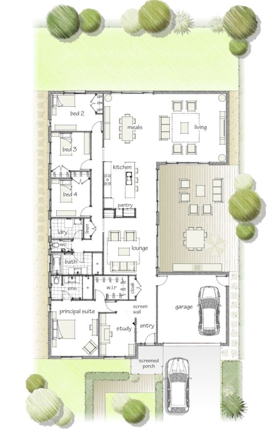 129 Best Images About House Plans On Pinterest House Design