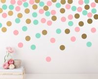 25+ best ideas about Polka dot wall decals on Pinterest ...