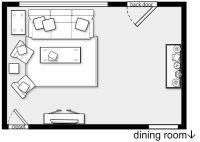 living room layout   ERGONOMIA E DETALHES TECNICOS ...