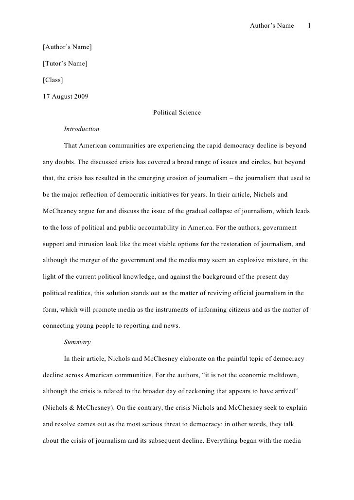 Apa Sample Essays Fahrenheit Essay Thesis Example Essay Thesis