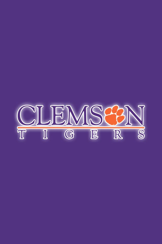 Clemson Tigers Iphone Wallpaper Clemson Desktop Wallpapers 24