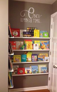 17+ best ideas about Nursery Bookshelf on Pinterest | Baby ...