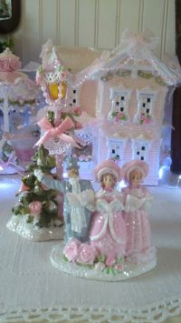 17 Best images about Shabby Chic Christmas crafts on ...