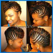 braided updo twist hairstyle