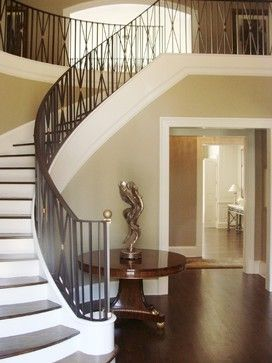 17 best images about Decor ideas for curved stairway entry