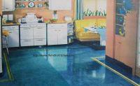linoleum flooring | Painted Linoleum Floors | Flooring ...