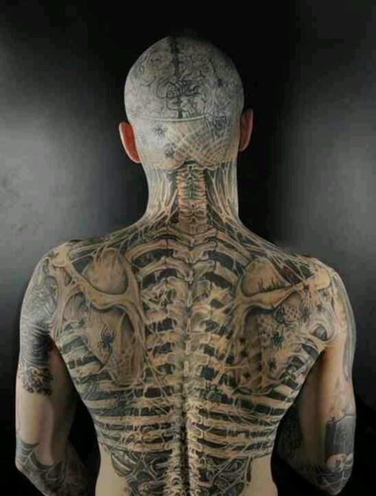 zombie boy rick genest anatomy