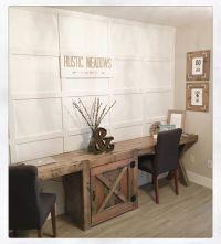beautiful farmhouse style desk | Pine + Main | Pinterest ...