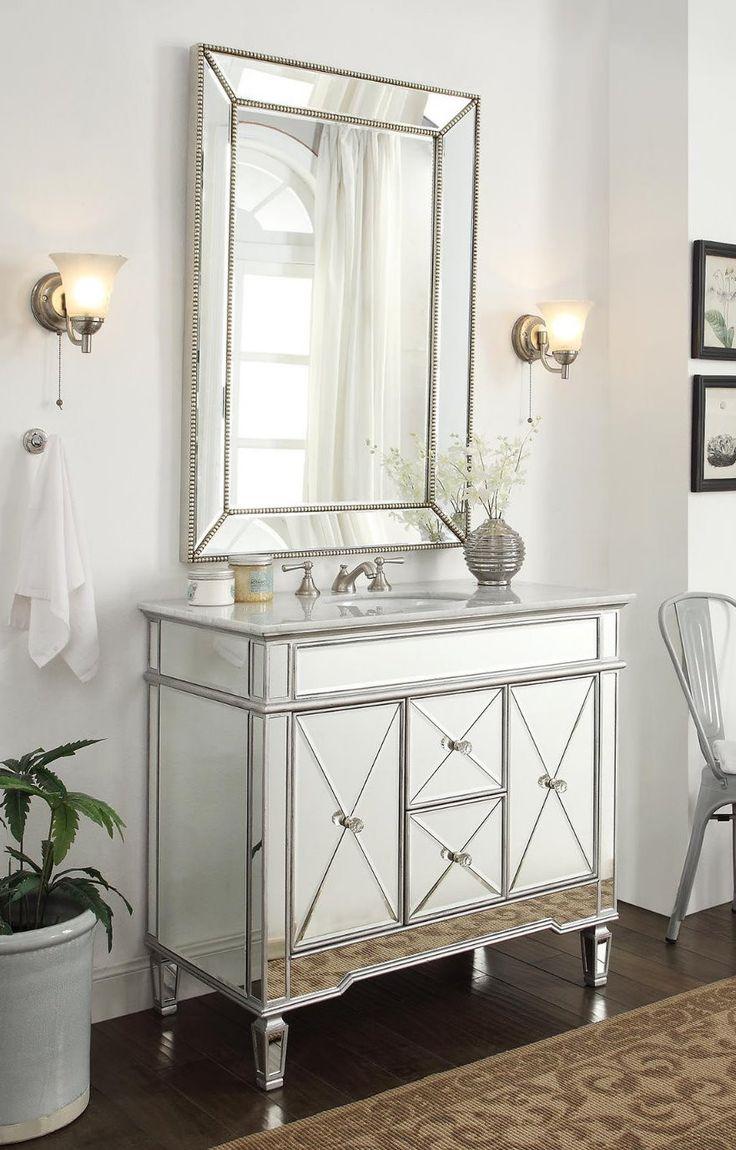 1000 ideas about Bathroom Vanity Mirrors on Pinterest