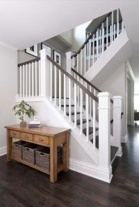 Wood Stair Railings Interior. Finest Furniture Modern