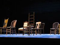 """Set Design: A set design from """"Our Town"""" by Thorton Wilder"""