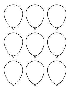 1000+ ideas about Balloon Template on Pinterest