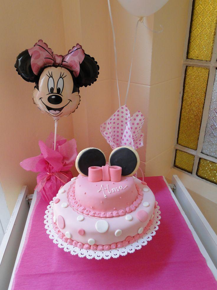 Un Cumple De Minnie Muy Rosa Para Una Princesa De Dos