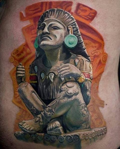 20 Conquistador Aztec Tattoos Ideas And Designs