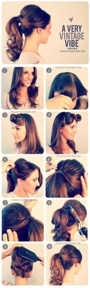 ideas vintage ponytail
