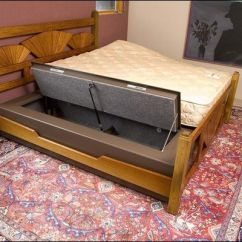 Sofa Sleeper Twin Size Pizza Urban Dictionary Diy Under Bed Gun Safe | Beds And Frames Pinterest ...