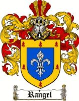 Rangel Coat of Arms / Rangel Family Crest   Coat of Arms ...
