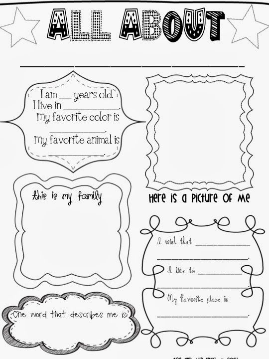 17 Best images about All about me poster ideas on