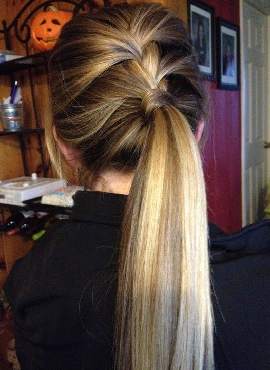 113 Best Images About Hair On Pinterest Cute Easy Ponytails
