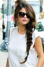 long braid- selena gomez hair