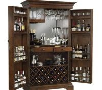 10+ images about bar cabinet on Pinterest | Small liquor ...
