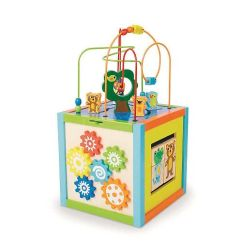 Fisher Price Kids Table And Chairs Keekaroo High Chair Tray Imaginarium Discovery 5 Way Activity Cube | Activities, Toys R Us