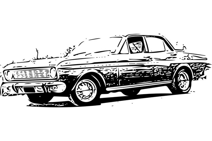 Sketch Lowrider Impala Coloring Pages
