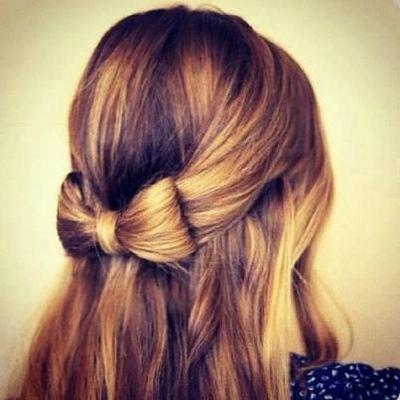 cute hairstyle tumblr hair pinterest cute hairstyles bow hairstyles and hair