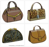 Handbag / Purse design - CADS / Computer rendered by Emily ...