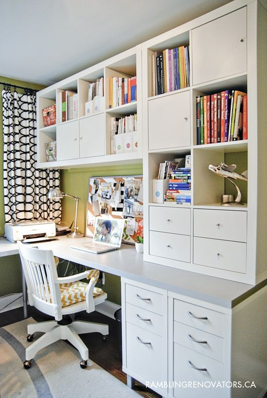 25 best ideas about Ikea Home Office on Pinterest  Ikea office Study desk ikea and Home office