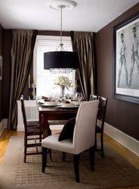 Curtain Colors For Dark Brown Walls