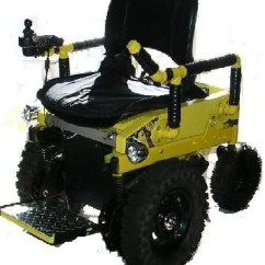Action Track Chair Red And Ottoman 4x4 Wheelchair Built By The Wheelchairconversions.com | Off Road Pinterest ...