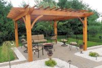 Best Freestanding Covered Top Build Patio Plans 2014 ...