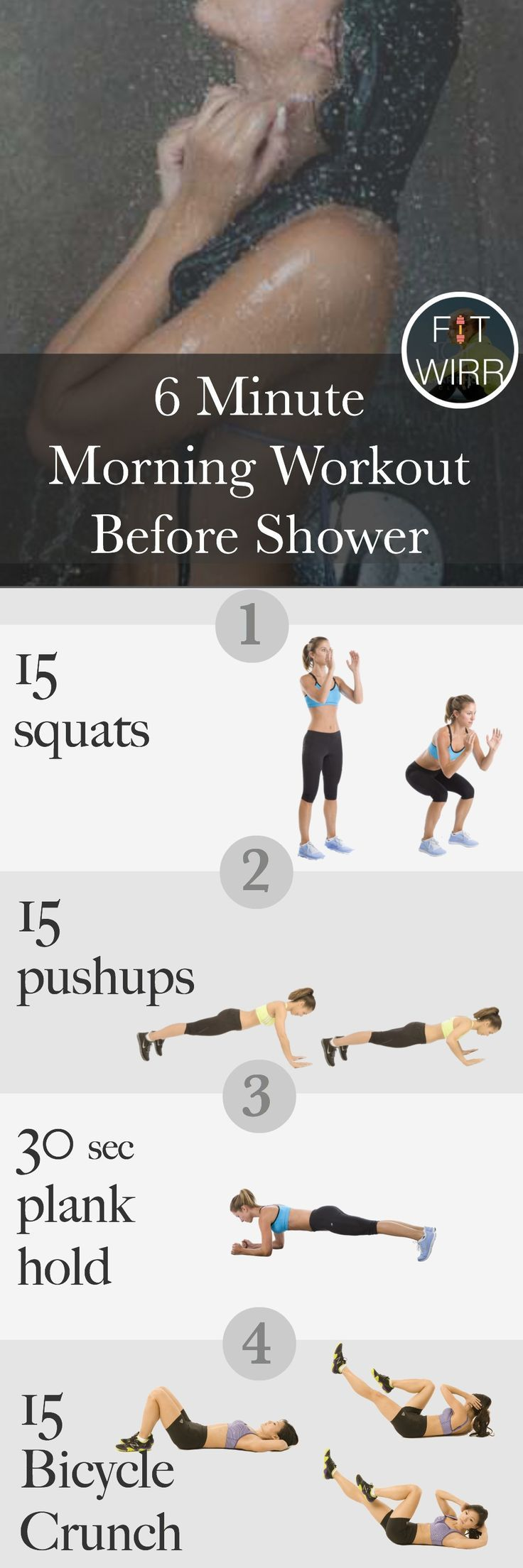 6 minute workout when your
