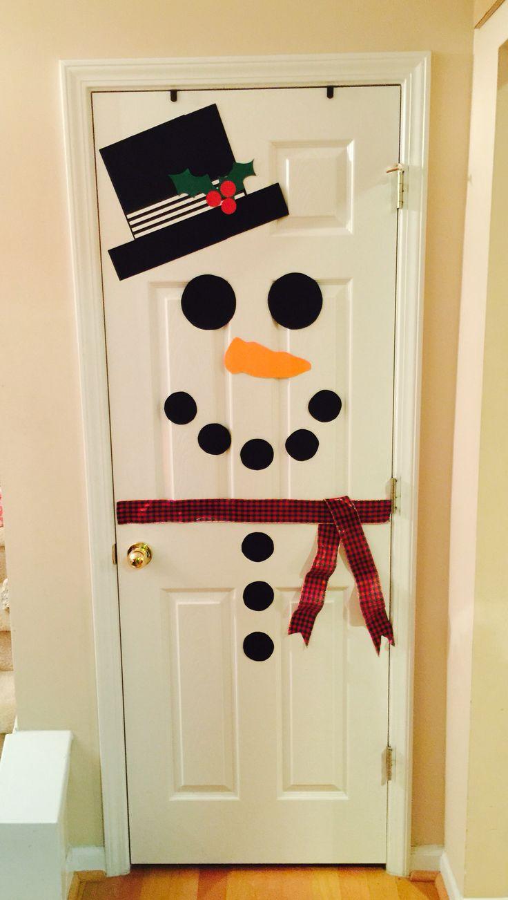 Snowman Door & Kindergarten Squared: Which Door Is The