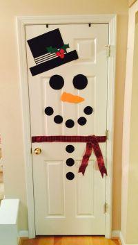 25+ Best Ideas about Snowman Door on Pinterest | Pumpkin ...