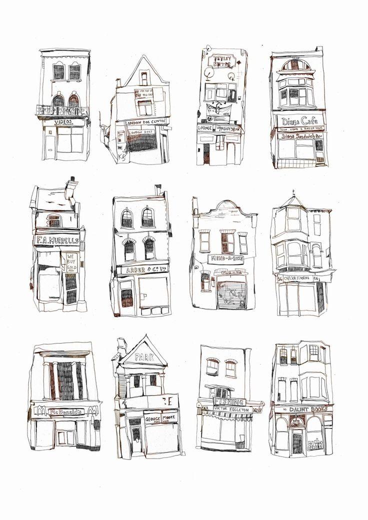 17 Best ideas about House Illustration on Pinterest